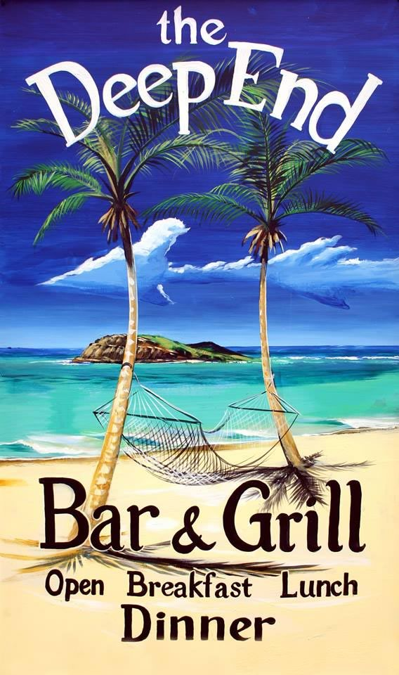 The New Deep End Bar & Grill at Tamarind Reef, St. Croix, USVI