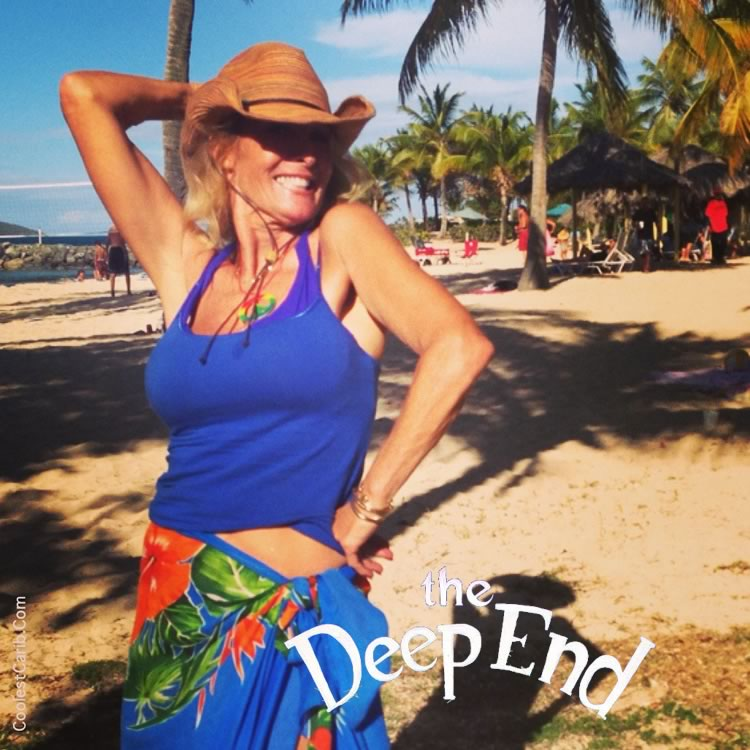Elena Lee of The New Deep End Bar and Grill, Tamarind Reef, St. Croix, USVI